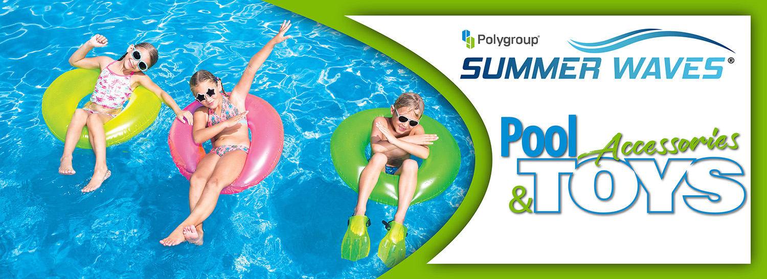 Polygroup Pools Accessories & Toys Banner