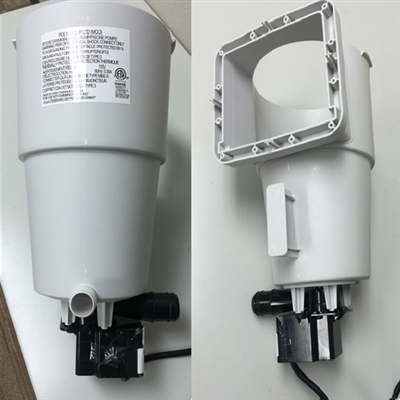 Sfs350 Skimmer Canister Assembly With F350c Gfci Pump